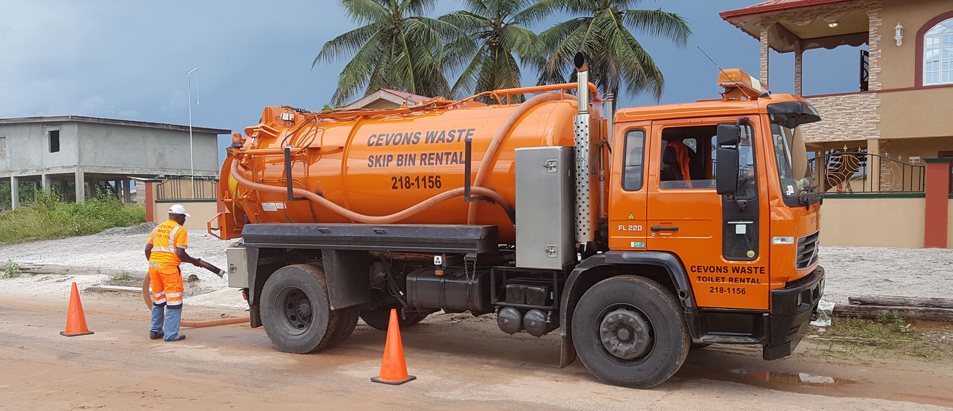 Cevons Waste Management – Guyana Leading Waste Contractor